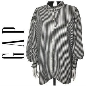 EUC Gap Classic Button Down Vertical Stripe Shirt
